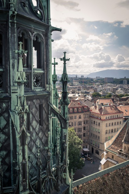 Picture of the Week #2: The view from the top of the Cathedral.